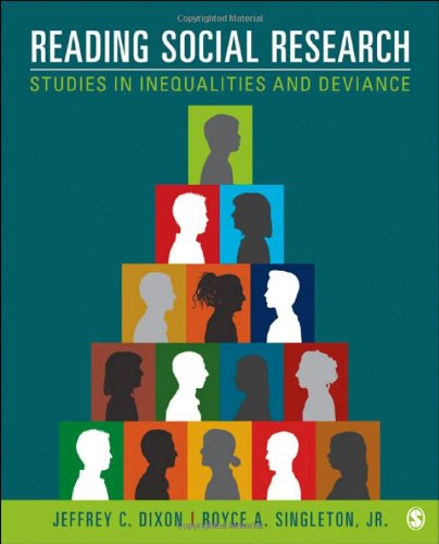 Reading Social Research Studies in Inequalities and Deviance  2013 edition cover
