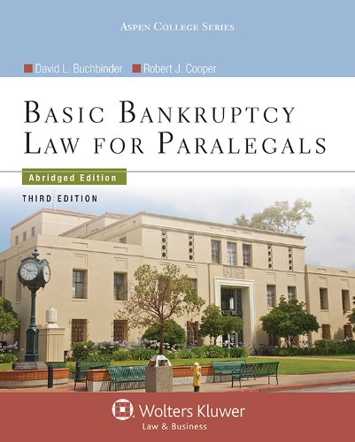 Basic Bankruptcy Law for Paralegals  3rd (Abridged) edition cover
