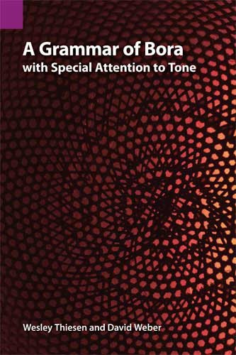 Grammar of Bora with Special Attention to Tone   2012 9781556713019 Front Cover