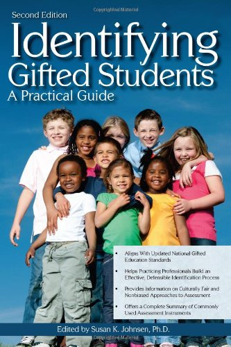 Identifying Gifted Students A Practical Guide 2nd 2011 (Revised) edition cover