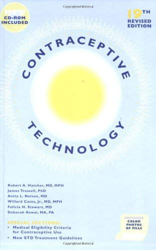 Contraceptive Technology  19th 2008 edition cover