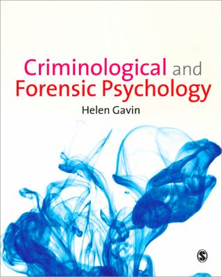 Criminological and Forensic Psychology   2013 edition cover