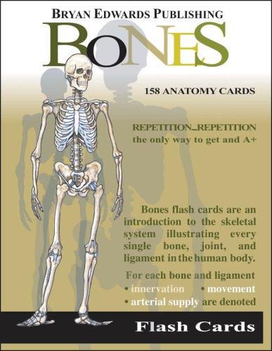 Bones Flash Cards N/A edition cover