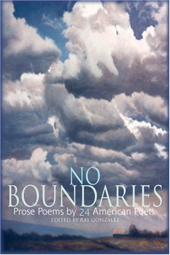No Boundaries : Prose Poems by 24 American Poets  2003 edition cover