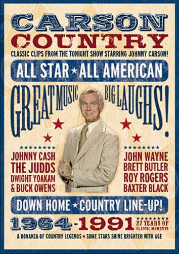 Johnny Carson: Carson Country System.Collections.Generic.List`1[System.String] artwork
