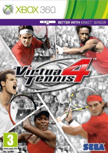 Virtua Tennis 4 Xbox 360 artwork