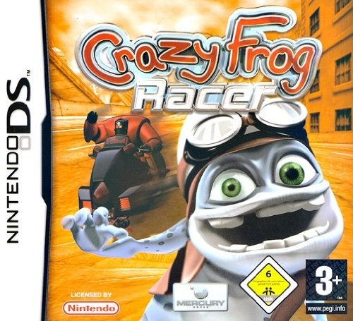 Crazy Frog Racer (Nintendo DS) Nintendo DS artwork