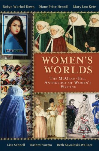 Women's Worlds The Mcgraw-Hill Anthology of Women's Writing  2008 edition cover