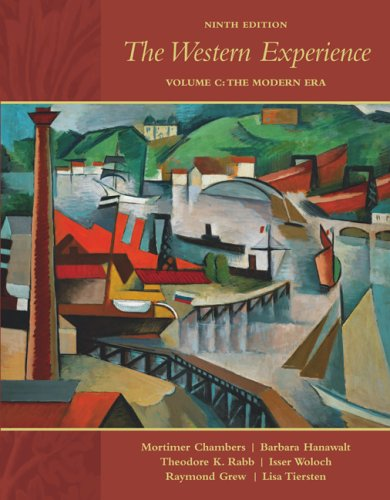 Western Experience, Volume C, with Primary Source Investigator and PowerWeb  9th 2007 edition cover