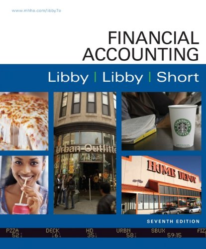 Financial Accounting  7th 2011 edition cover