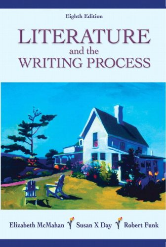 Literature and the Writing Process  8th 2007 edition cover