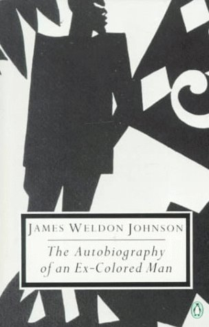 James Weldon Johnson The Autobiography of an Ex-Colored Man  1990 edition cover
