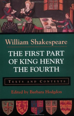 First Part of King Henry the Fourth Texts and Contexts  1997 edition cover