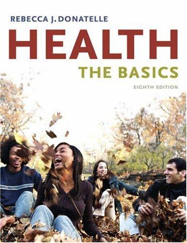 Health The Basics 8th 2009 edition cover