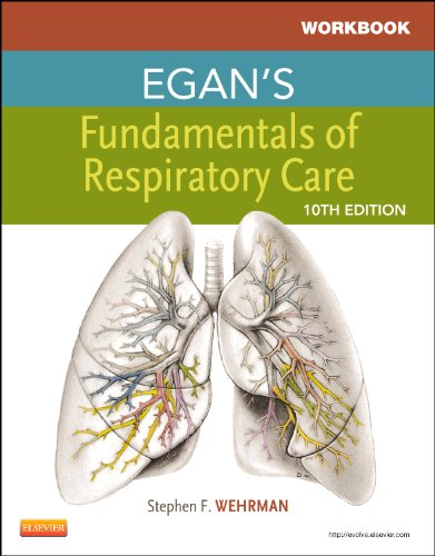 Workbook for Egan's Fundamentals of Respiratory Care  10th 2012 edition cover