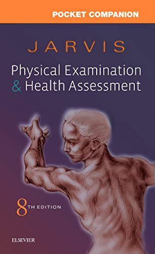 Pocket Companion for Physical Examination and Health Assessment:   2019 9780323532020 Front Cover