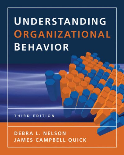 Understanding Organizational Behavior 3rd 2008 (Revised) edition cover