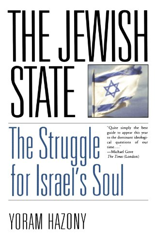 Jewish State The Struggle for Israel's Soul N/A edition cover