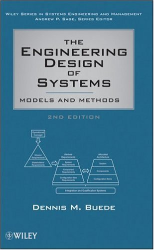 Engineering Design of Systems Models and Methods 2nd 2009 edition cover