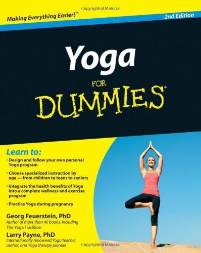 Yoga for Dummies  2nd 2010 edition cover
