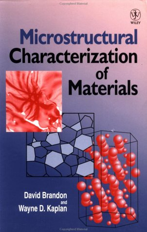 Microstructural Characterization of Materials   1999 9780471985020 Front Cover