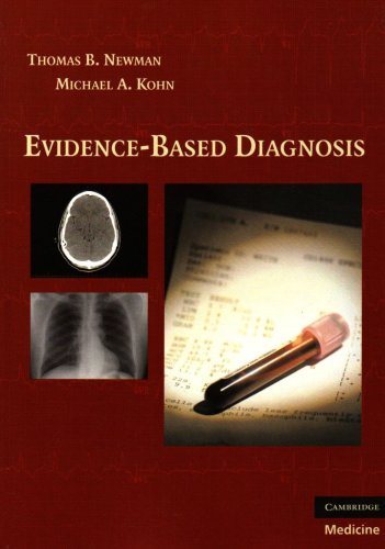 Evidence-Based Diagnosis   2009 edition cover