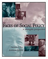Faces of Social Policy A Strengths Perspective  2002 edition cover