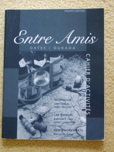 Entre Amis An Interactive Approach 4th 2002 9780618115020 Front Cover