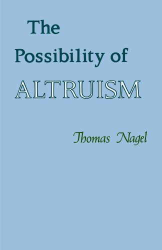 Possibility of Altruism   1979 edition cover