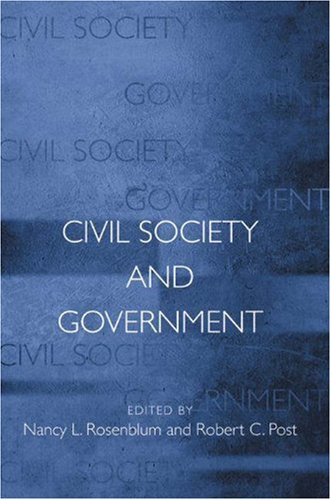 Civil Society and Government   2001 edition cover