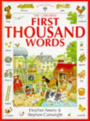 First Thousand Words N/A edition cover