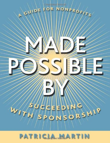 Made Possible By Succeeding with Sponsorship  2003 edition cover