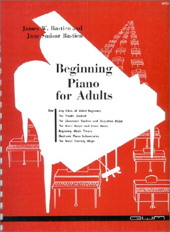 Beginning Piano for Adults N/A 9780910842020 Front Cover