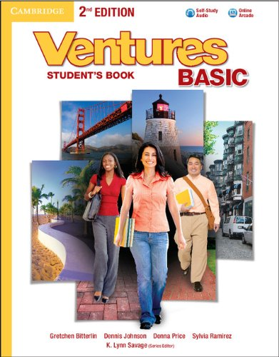 Ventures Basic  2nd 2013 edition cover