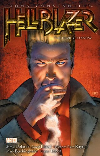 John Constantine, Hellblazer Vol. 2: the Devil You Know (New Edition)   2011 9781401233020 Front Cover