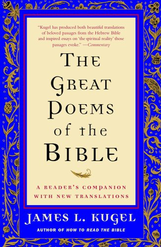 Great Poems of the Bible A Reader's Companion with New Translations N/A edition cover
