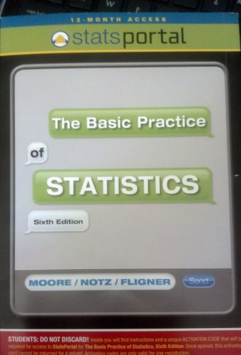 BASIC PRACTICE OF STATISTICS-A N/A edition cover