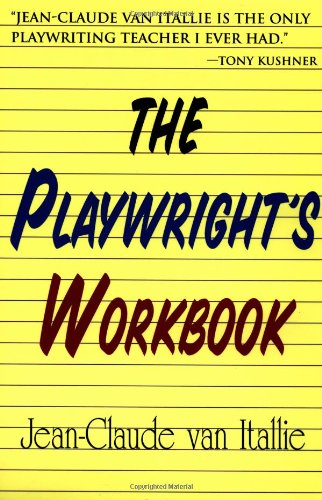 Playwright's Workbook   1997 edition cover