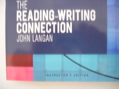 READING-WRITING CONNECTION >INSTRS.ED<  N/A edition cover