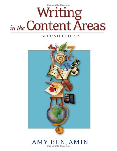 Writing in the Content Areas  2nd 2005 (Revised) edition cover