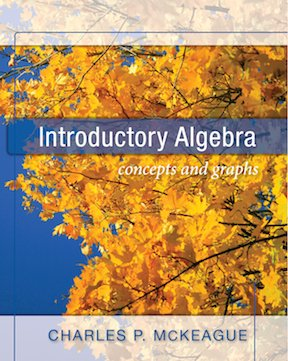 Introductory Algebra Concepts and Graphs  2010 edition cover