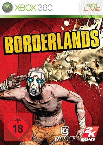 Borderlands Xbox 360 artwork
