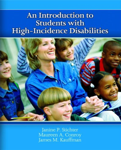 Introduction to Students with High-Incidence Disabilities   2008 9780131178021 Front Cover