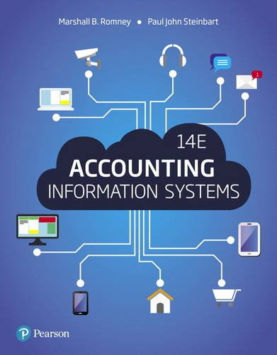 Accounting Information Systems:   2017 9780134474021 Front Cover