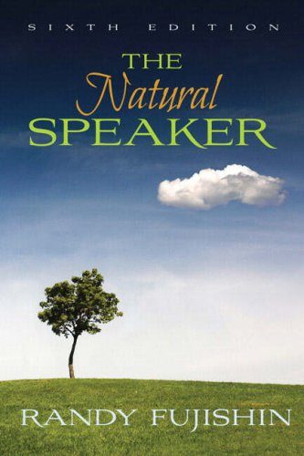 Natural Speaker  6th 2009 edition cover