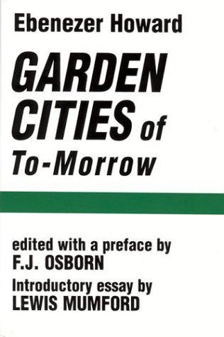 Garden Cities of To-Morrow   1965 edition cover