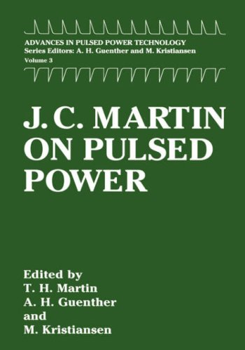 J. C. Martin on Pulsed Power   1996 9780306453021 Front Cover