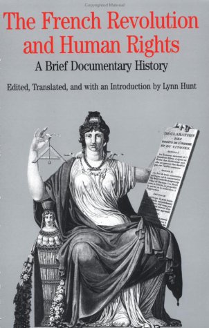 French Revolution and Human Rights A Brief Documentary History  1996 edition cover
