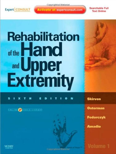 Rehabilitation of the Hand and Upper Extremity  6th 2010 edition cover