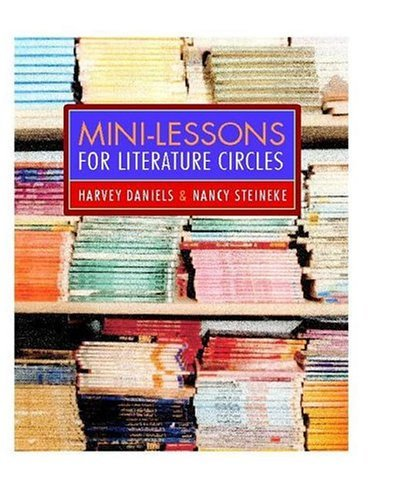 Mini-Lessons for Literature Circles   2004 edition cover